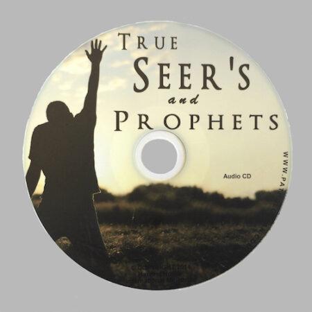 True Seers and Prophets audio CD