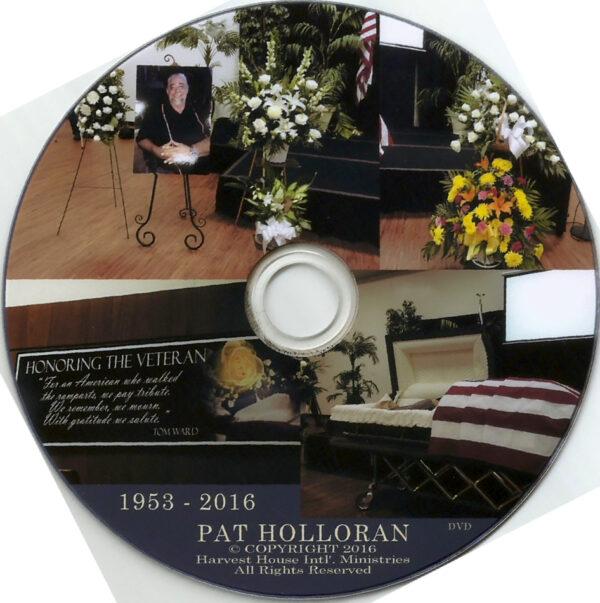 Pat Holloran Memorial Service DVD